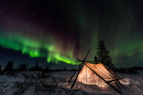 Aurora tent de Meril Darees