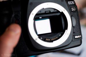 Nettoyer son Capteur en 3 Etapes - Verification de la presence de tache - BLOG