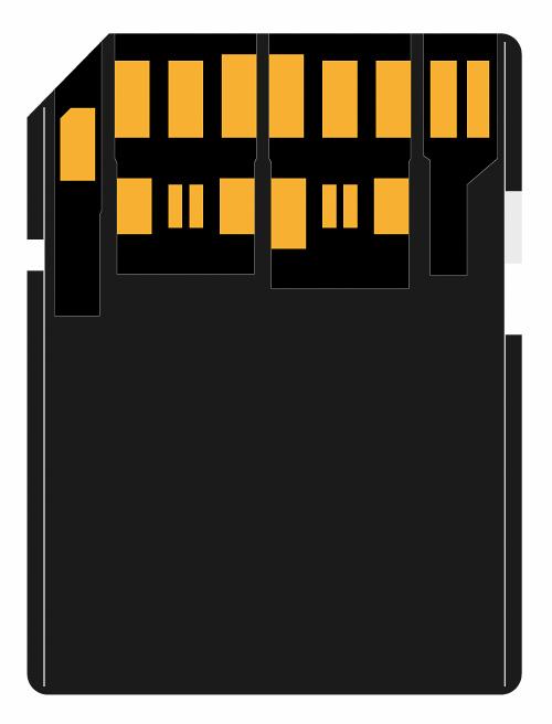 Les differents types de cartes SD - Bus UHS-II - BLOG